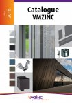 VMZINC Catalogue 2018 Edition