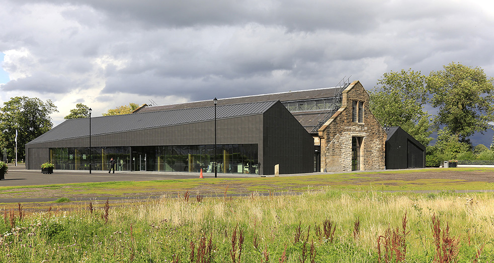 National Conservation Centre (THE ENGINE SHED), Stirling (UK)