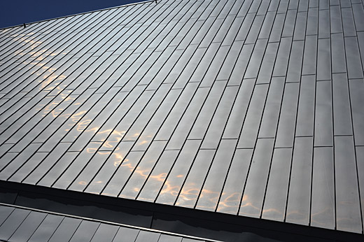 Vmzinc Interlocking Panel Fa 231 Ade System Is Suitable For