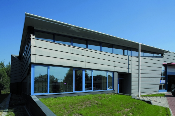 Vmzinc Standing Seam Can Be Used For Roofing Amp Cladding